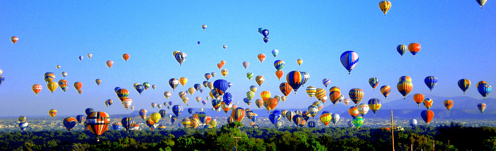Hot Air Balloons by Danae Hurst