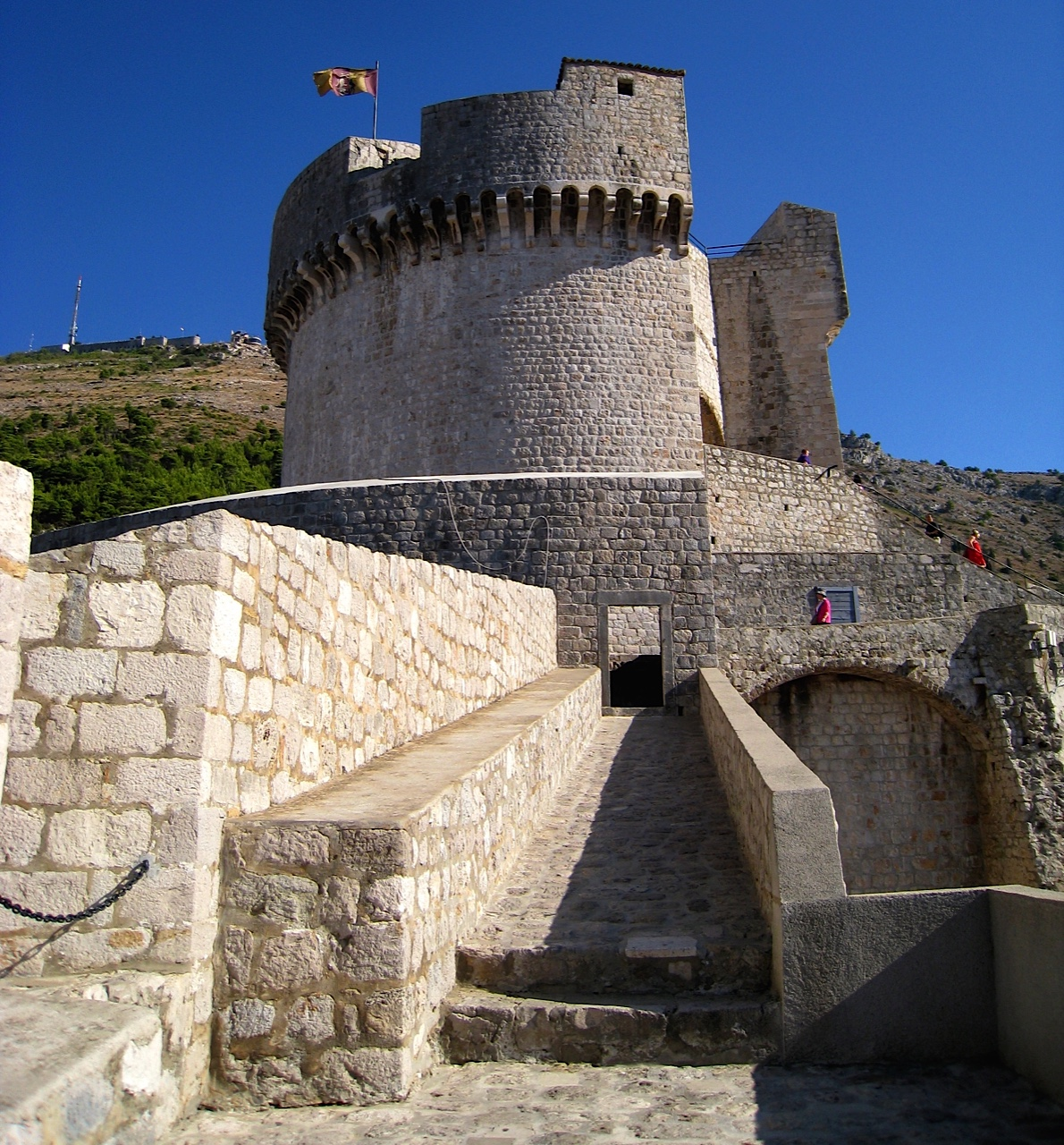 Dubrovnik Minceta Fortress wall