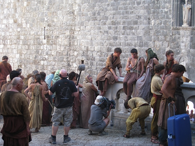 Dubrovnik street Game of Thrones Cast