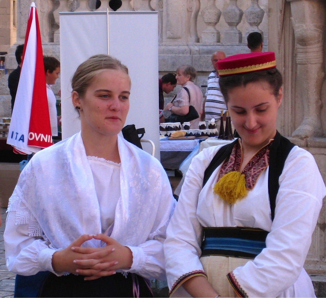 Women at Dubrovnik jam festival
