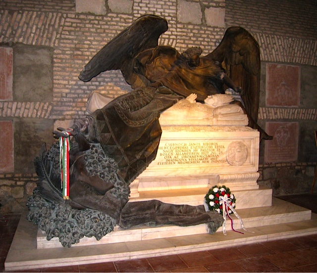 Crypt in the Esztergom Basilica on the Danube