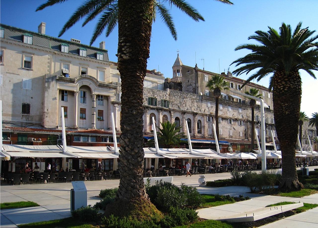 Split Riva Promenade
