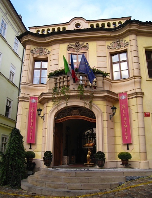 Prague Alchymist hotel