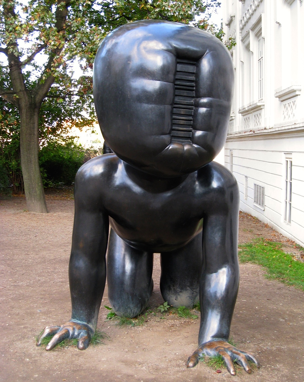 Prague Babies- Baby with slot machine face