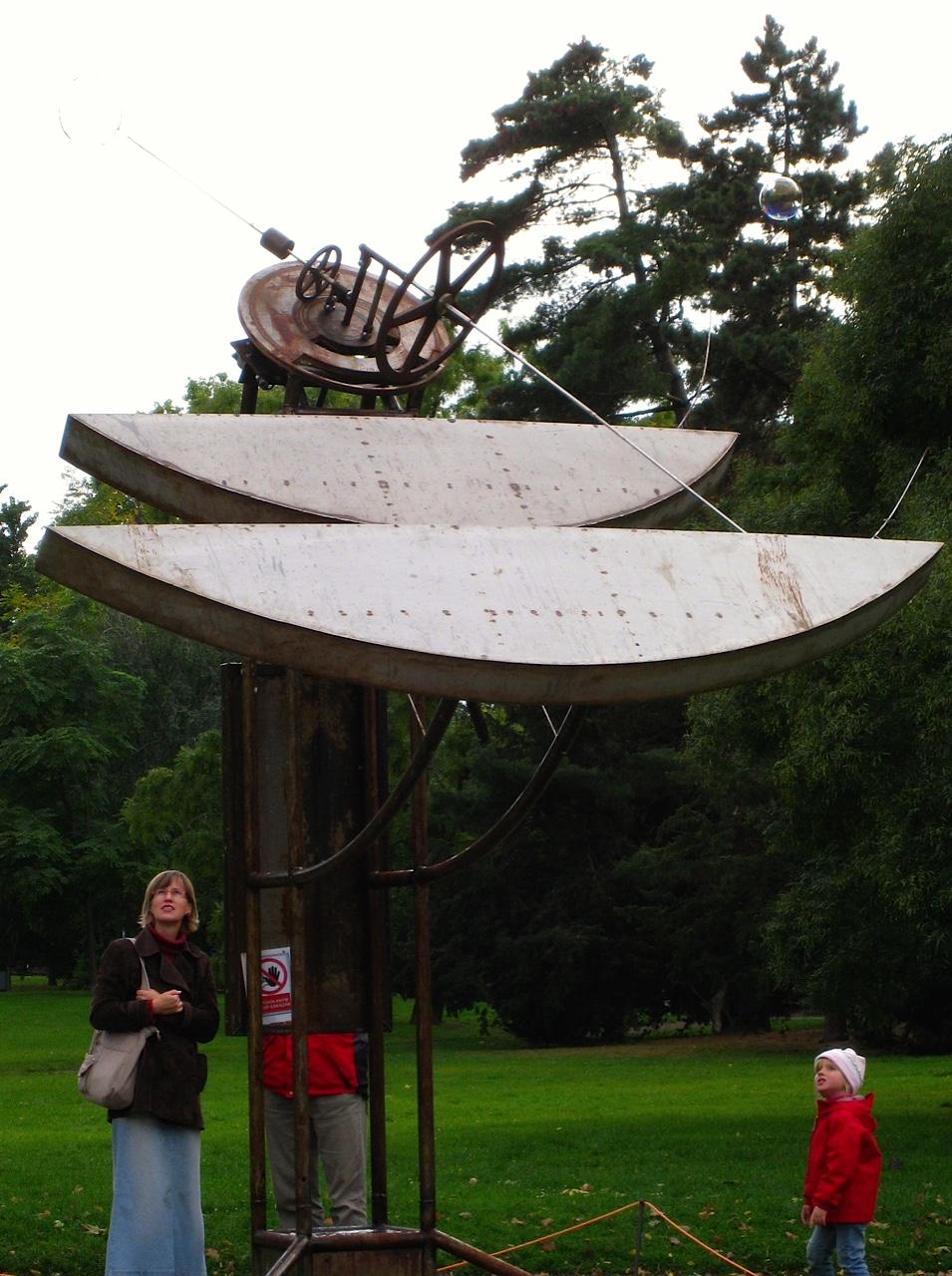 Prague Charles Park Bubble Machine