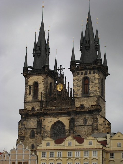 Prague Cathedral of Our Lady before Tyn Church