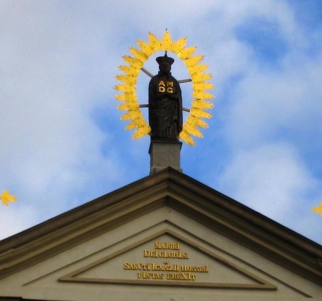 Prague St Ignatius Chiurch