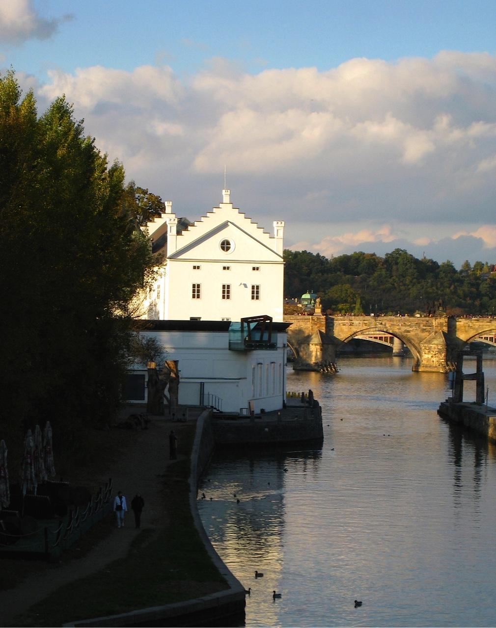 Tampa Museum on Prague Waterfront