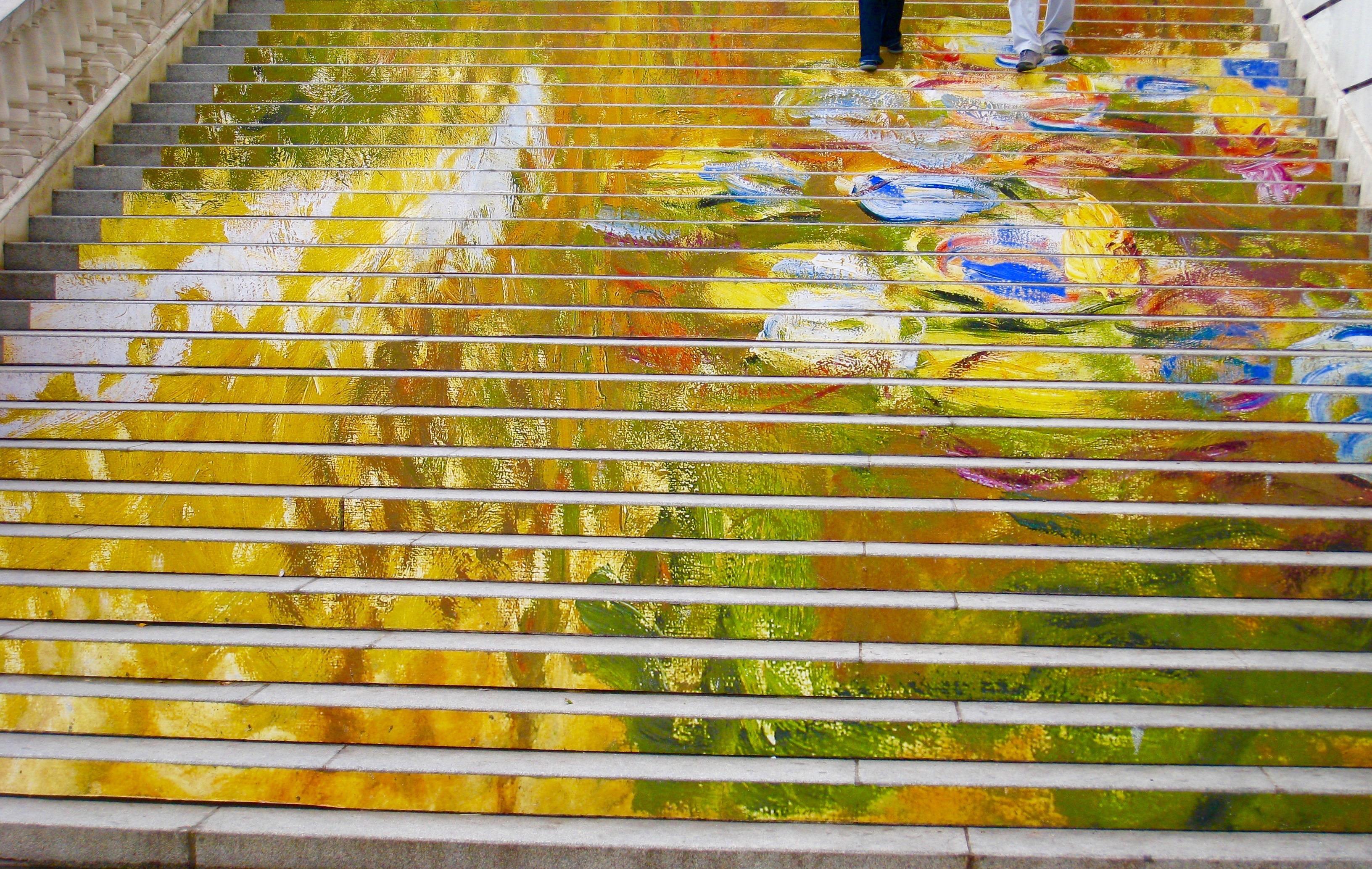 Vienna Painted Steps at Albertina Museum