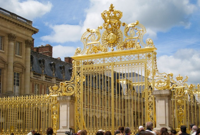 Versailles Gilded Gates