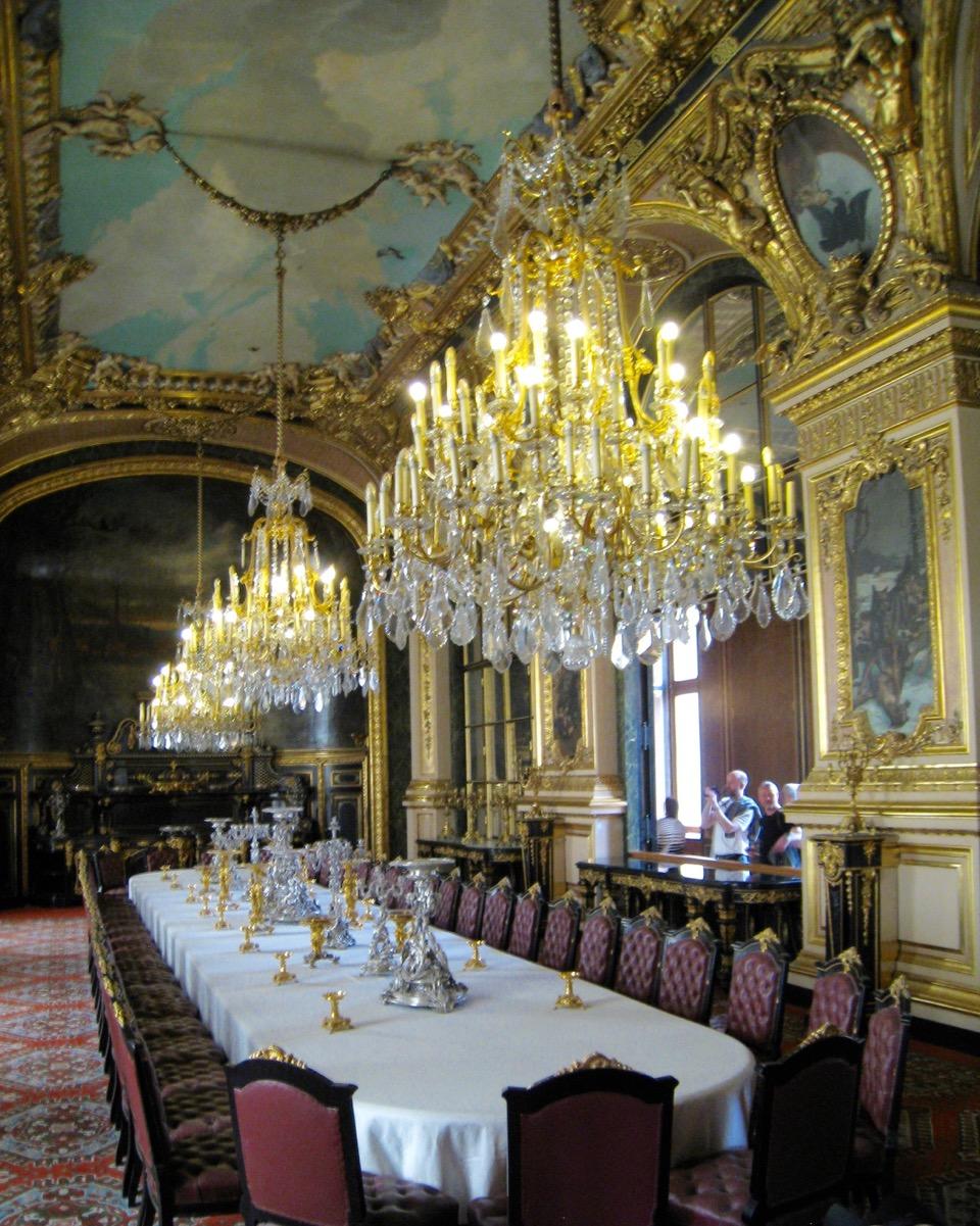 Napoleon's dining room (Napoleon's Apartments)