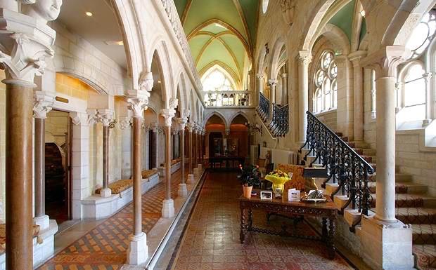 Abbaye de la Bussiere reception