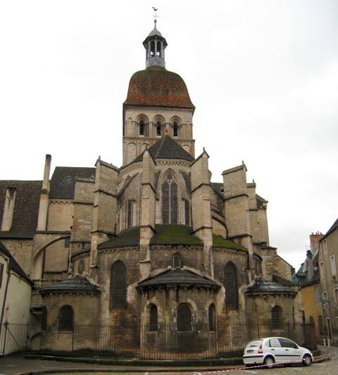 Collegiale of Notre Dame - Back