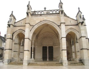 Collegiale of Notre Dame - Front