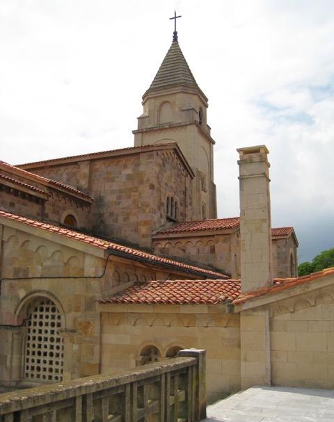 San Pedro Church in Gijón