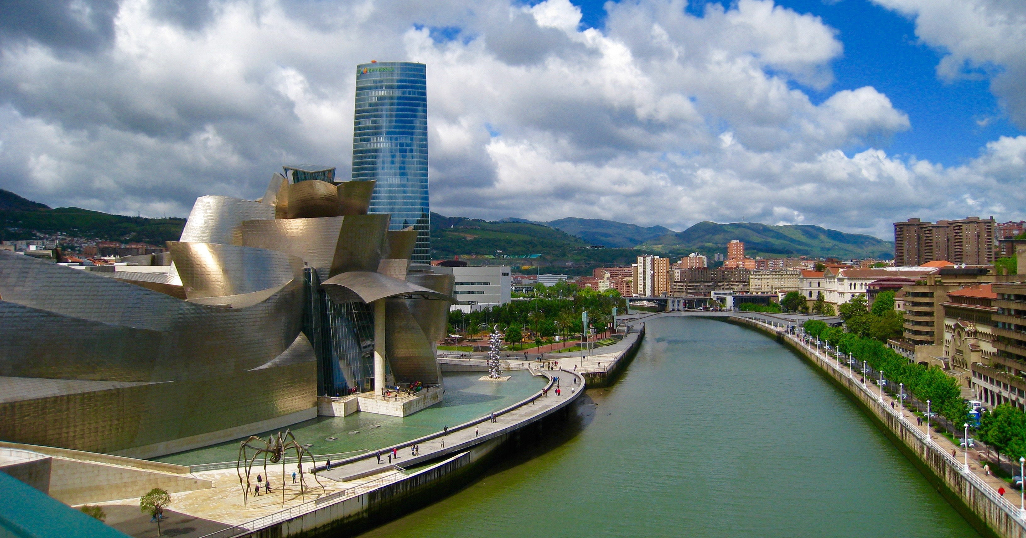 The Guggenheim Museum, Bilbao, Spain