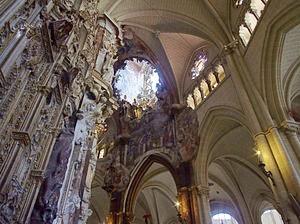 El Transparente, a Baroque altarpiece