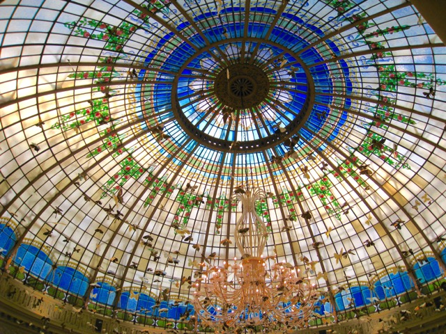 Stained Glass Dome, Westin Palace, Madrid