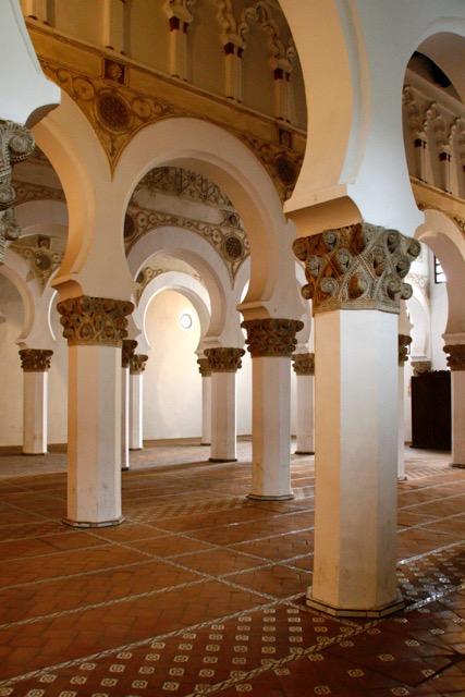 Sinagoga de Santa Maria la Blanca, Toledo, Spain