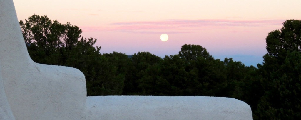 Moonrise Over Taos